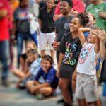 Kids Laughing at Omaha Magic Show